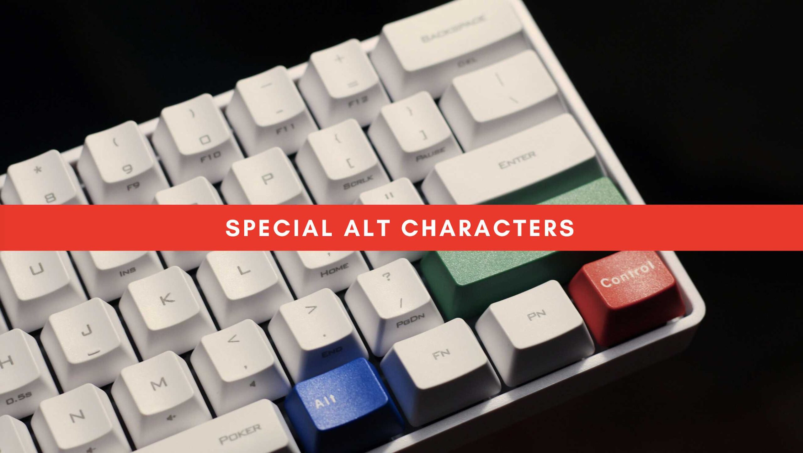 Special ALT Characters 01